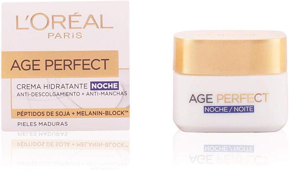 L'Oreal Paris Dermo Expertise Age Perfect Crema de Noche, Pieles Maduras - 50 ml