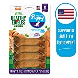 Nylabone Healthy Edibles Puppy Chew Treats, Turkey & Sweet Potato,...