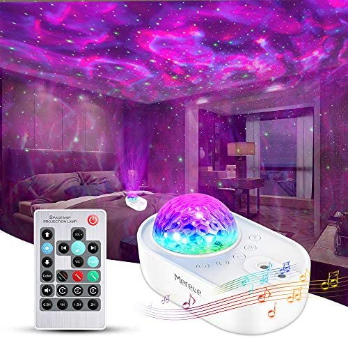 Star Projector Merece 3 in 1 Galaxy Night Light Projector with Remote Control Bluetooth Music product image