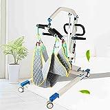 Hmlopx Faltbar Geduldig Aufzug Transfer Maschine, 180Kg Tragfähigkeit, Für Menschen Mit Behinderungen, Umschalten Auf Rollstühle/Toiletten/Autos Usw -