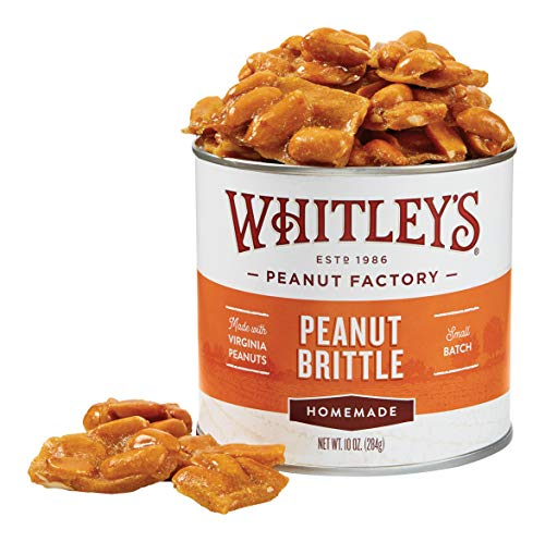 Our #3 Pick is the Whitley's Homemade Peanut Brittle
