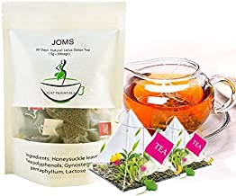 Organic 28 Day Detox Tea for Weight Loss and Belly Fat - Herbal Slimming Detox Tea Cleansing Toxins Weight Loss Tea Sachets Kit Appetite Suppressant Laxative that Work Fast