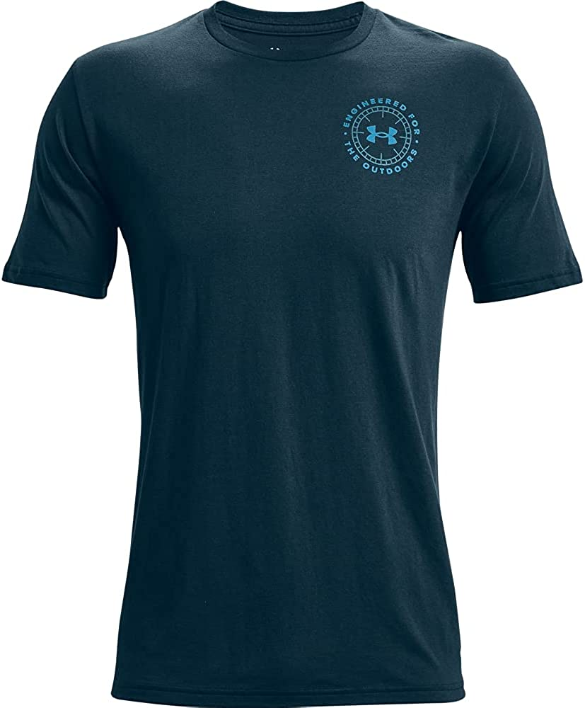 Under Ranking TOP17 Armour Men's 25% OFF Compass T-Shirt Engineered