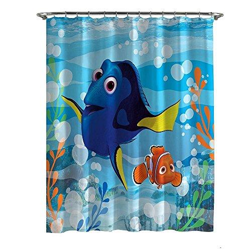 Disney Pixar Findet Dorie Nemo Mikrofaser-Duschvorhang
