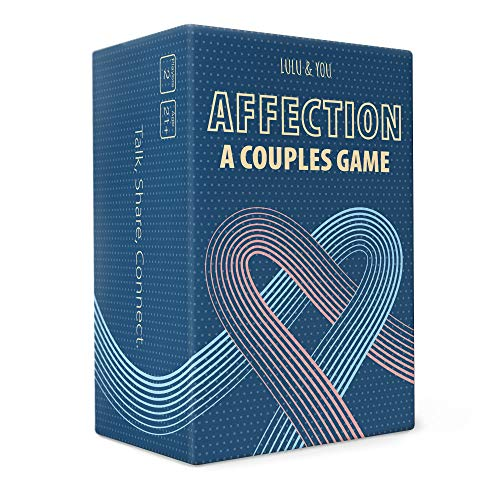 AFFECTION - A Couples Game - Perfect for Date Night - Anniversary Romantic Gift for Her or Him
