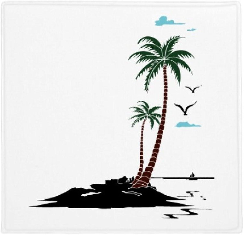 calidad auténtica DIYthinker Alfombrilla Alfombrilla Alfombrilla Antideslizante para el Suelo de la Playa, diseo de gaviotas de Coco y Nube, 80 cm  descuento online