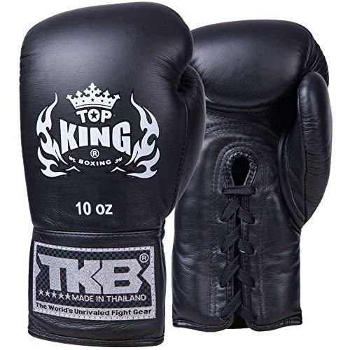 TOP King Boxhandschuhe, Wettkampf, schwarz Größe 10 Oz