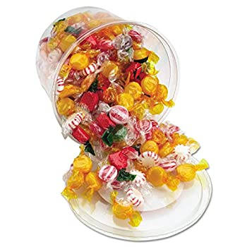 Office Snax Products - Office Snax - Fancy Assorted Hard Candy Individually Wrapped 2lb Tub - Sold As 1 Each - Assorted candies are great for the office.