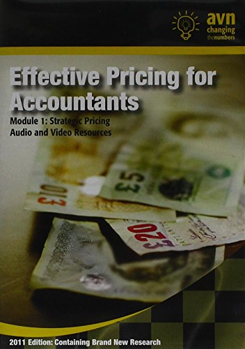 Effective Pricing for Accountants: Module 1 - Strategic Pricing