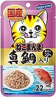 (まとめ買い)はごろもフーズ プレミアムねこまんまパウチ真鯛入 40g 猫用 【×36】