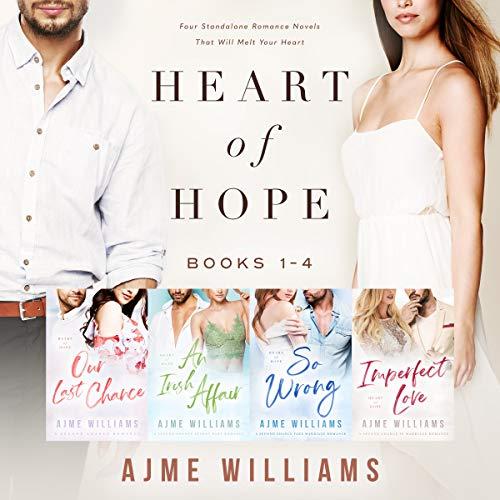 Heart of Hope (Books 1-4): Sammlung einer zeitgenössischen Liebesroman-Reihe (German Edition)