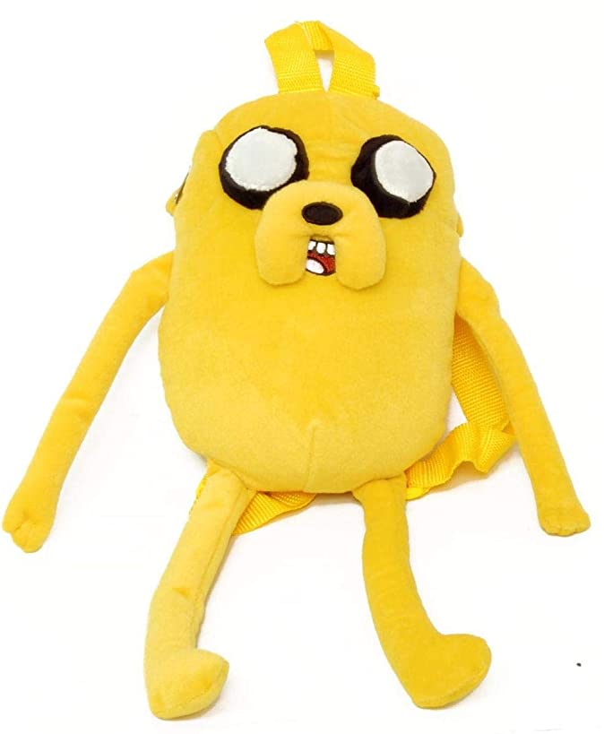 Adventure Time with Finn and Jake - JAKE Character Plush BACKPACK by Cartoon Network