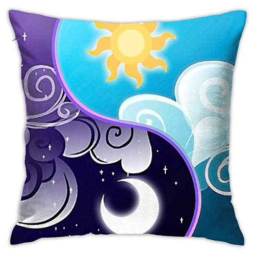 lucies Colorful Galaxy Music Note Throw Pillow Case Soft Cushion Cover 18 X 18 Inch Decorative Pillowcases Modern Square Pillow Case Home Car Decoration