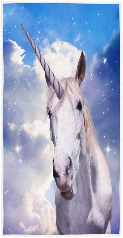Exnundod Year-end gift Unicorn Fantastic Starry Over item handling ☆ Sky Hand Shi Bath Magic Towels