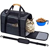 Pet Carrier Airline Approved Soft Sided for Cats...