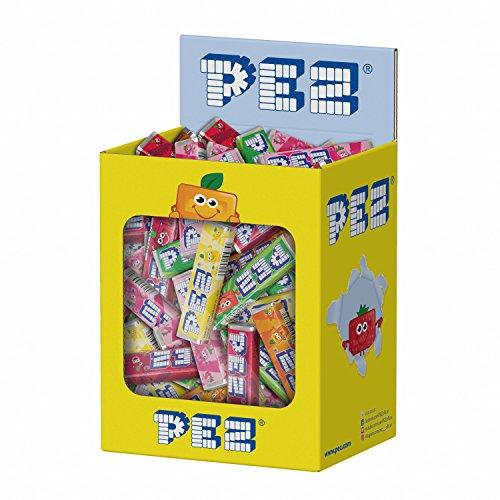 100 caramelos PEZ sabor fruta