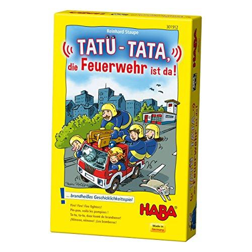 """Haba 301912"""" Tatü-Tata-Die Feuerwehr ist Spiel"""