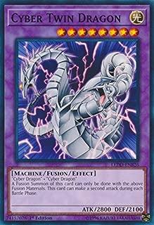 Cyber Twin Dragon - LEDD-ENB26 - Common - 1st Edition - Legendary Dragon Decks (1st Edition)