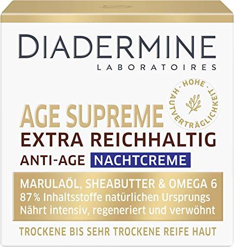 DIADERMINE Age Supreme Extra Reichhaltig Nachtpflege Anti-Age Nachtcreme, 1er Pack (1 x 50 ml)