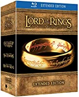The Lord of the Rings - The Motion Picture Trilogy,Extended Edition (6 Blu-Ray+9 DVD)