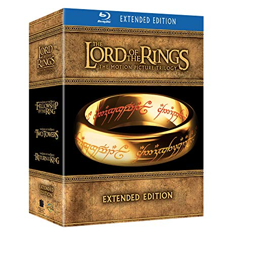 The Lord of the Rings / Il Signore degli Anelli - The Motion Picture Trilogy, Extended Edition [15 DVD Set] [Blu-ray] [IT Import]