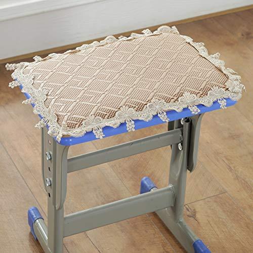Seatpads Anti-Slip Coussins De Chaise avec Liens Épaissir Coussin Mat avec Dentelle Intérieur Extérieur Coussins D'Assise pour Chaise De Salle à Manger Chaises De Cuisine-l 24x34x2cm