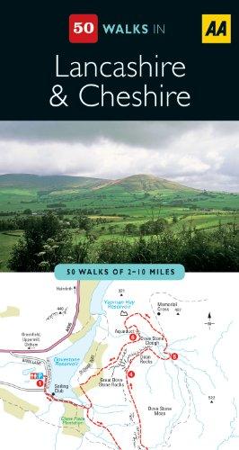 Lancashire & Cheshire (AA 50 Walks Series)