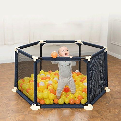 Kinderspielzeug tragbare Baby Spielzeug Feld Kinder Spiel Zaun Hause Baby Ball Pool ( Farbe   Blau , Größe   1.5M )