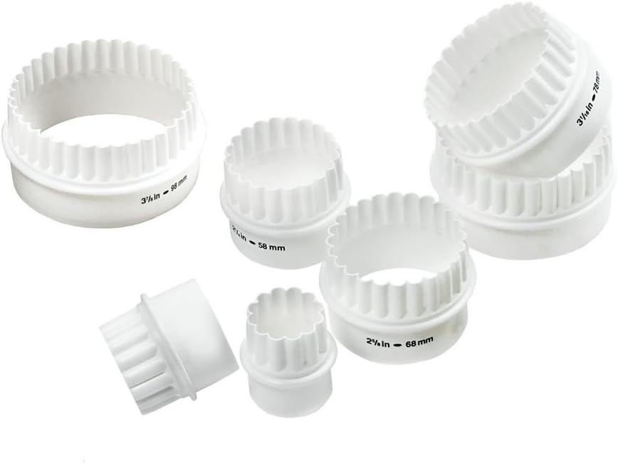 Norpro Deluxe 7-Piece Cutter Set, White