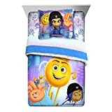 Franco Manufacturing Emoji Movie 'The Cloud' Kid's Bedding Reversible Twin/Full Comforter with Sham #798641027