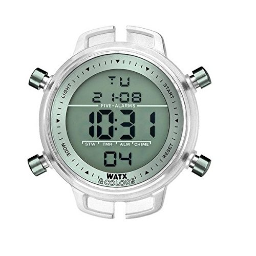 Watx & Colors Reloj Analog-Digital para Mens de Automatic con Correa en Cloth S0311959