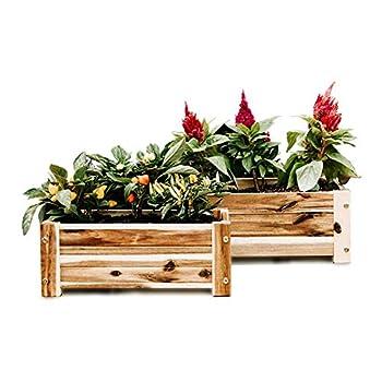 Best wooden flower box Reviews