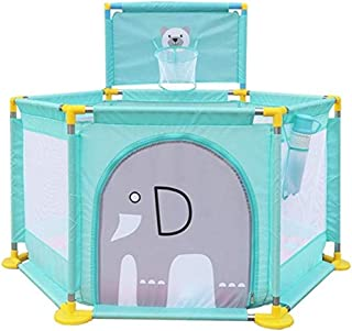 MWPO Baby park with shooting and door panels  suitable for toddlers  Protective fences  for indoors and outdoors bed roll height  color
