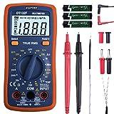 Digital Multimeter Set, kuman Pocket Multi Tester für Voltmeter Amperemeter Ohmmeter Widerstandsdioden Temperatur