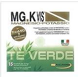 POOL PHARMA MG.K Vis - Té verde de magnesio-potasio, 15 bolsitas