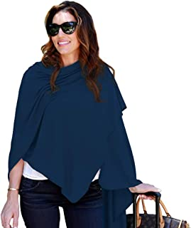 HappyLuxe Travel Wrap and Blanket, Eco Friendly Accessories for Women, Made in USA