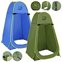 Denny International Portable Outdoor Instant Pop Up Tent For Privacy Camping Shower, Toilet & Changing Room
