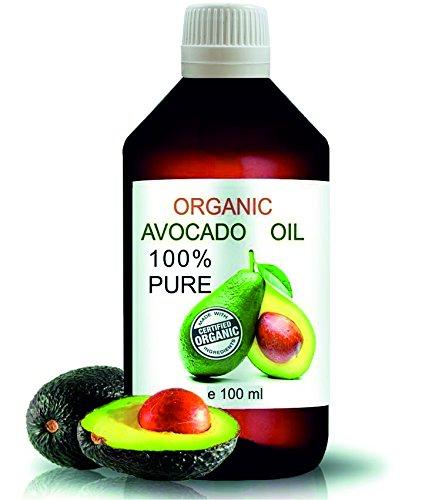 Aceite Ecológico de Aguacate 100 ml Comercio Justo 100% Nat