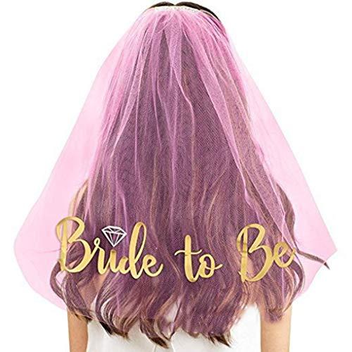 Dyudyrujdtry Betrouwbare haarkam met bruid tot zer, bruiloft, party, vrijgezellenfeest, kostuum voor bruiloft, haarband