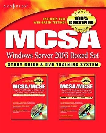 MCSA Windows Server 2003 Boxed Set: Study Guide & DVD Training System