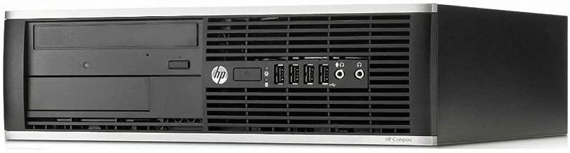 HP Elite 8300 - Ordenador de sobremesa (Intel Core i7-3770, 8GB de RAM, Disco SSD 240GB, Lector DVD, Windows 10 Pro ES 64) - Negro (Reacondicionado)