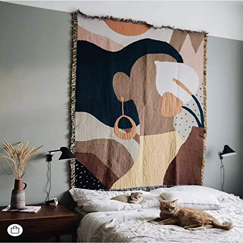 Tapiz estrellado manta decorativa manta de sofá manta manta de cama manta de punto alfombra alfombras chica manta 90X90cm