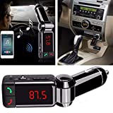 BKN® BC-06 Car Bluetooth MP3 Audio Player FM Transmitter Modulator Car Kit LCD