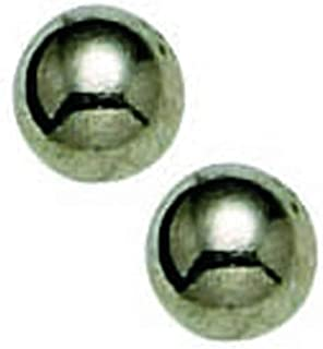 Titanium Ball Earrings Pair in 4mm - Sterile Hypoallergenic For Sensitive Ears