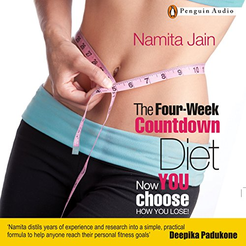 The Four Week Countdown Diet audiobook cover art