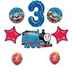 Thomas The Tank Engine Train 3rd Happy Birthday Balloon Set