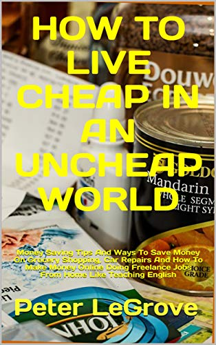 How To Live Cheap In An UnCheap World: Money Saving Tips And Ways To Save Money On Grocery Shopping, Car Repairs And How To Make Money Online Doing Freelance Jobs From Home In The Gig Economy by [Peter LeGrove]