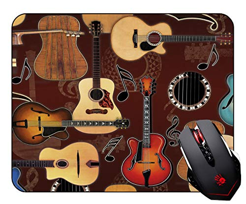 Abili Gaming Mouse Pad Custom, Enjoying Guitar Bringing Wonderful Music Mouse Pads for Computers Laptop Office -Durable & Comfortable Non-Slip Rubber Mouse Mat Mousepad