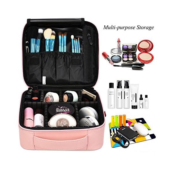 Beauty Shopping NiceEbag Travel Makeup Bag Cosmetic Bag for Women Girls Professional