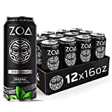 Energy for a Healthy, Positive Life: ZOA ZERO SUGAR Energy Drinks are lightly carbonated and made from natural caffeine, superfoods acerola and camu camu, added vitamins and electrolytes to provide positive, sustained energy and immune system support...